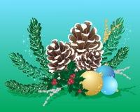 Agencement de Noël illustration libre de droits