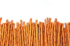 Agencement de pretzel Rods/bâtons Photo stock