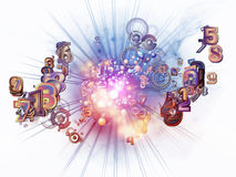 Agencement de technologie de Digitals illustration libre de droits