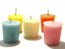 Agencement des bougies Images libres de droits