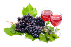 Agencement des raisins Photographie stock libre de droits