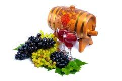 Agencement des raisins images stock