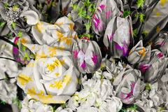 Agencement floral illustration de vecteur