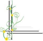 Agencements de fleur Photo libre de droits
