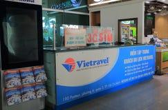 Agenci podróży chi Minh miasta lotnisko międzynarodowe Wietnam Ho Fotografia Stock