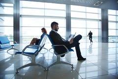 Agenci przy lotniskiem Zdjęcie Royalty Free