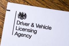Agencia de la autorización del conductor y del vehículo Foto de archivo