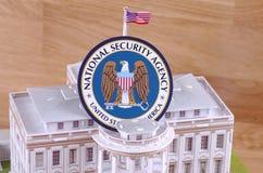 Agencia de seguridad nacional Imágenes de archivo libres de regalías