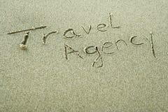 Agencia de viajes - concepto del día de fiesta Fotografía de archivo libre de regalías