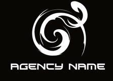 agencja logo Zdjęcie Stock