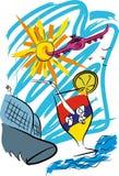 Agencja podróży ilustracja wektor
