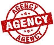 Agencja znaczek ilustracja wektor