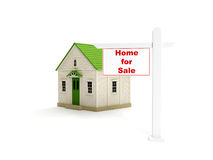 Agency sales of homes Stock Photo