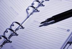 Agenda Image stock