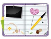 Agenda Illustration Stock