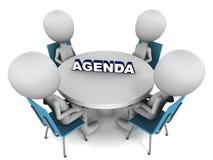 Agenda ilustracja wektor