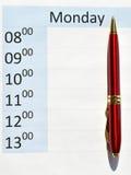 Agenda Zdjęcia Royalty Free