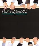 Agenda Fotos de Stock
