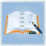 Agenda Fotografía de archivo libre de regalías