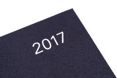 2017 Agenda Royalty-vrije Stock Foto's