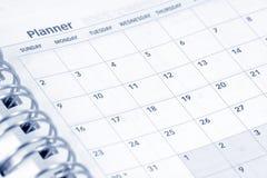 Agenda aberta Fotos de Stock