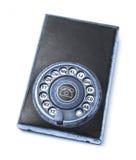 Agenda analogica del teléfono Fotografía de archivo libre de regalías
