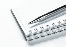 Agenda And Ball Pen Royalty Free Stock Photography