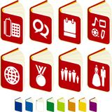 Agenda books Royalty Free Stock Photo