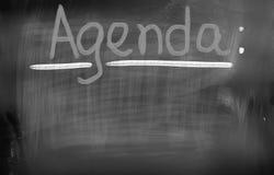 Agenda Concept Stock Images