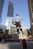 Agenda d'un ballon Wimpy de gosse dans le défilé de Macy Image libre de droits