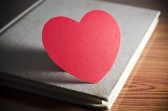 Agenda de l'amour Photographie stock libre de droits