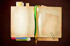 Agenda del asunto Foto de archivo