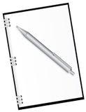 Agenda et crayon lecteur Illustration de Vecteur