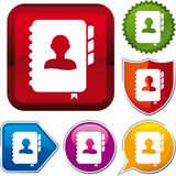 Agenda icon Stock Images