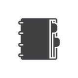 Agenda icon vector Stock Image