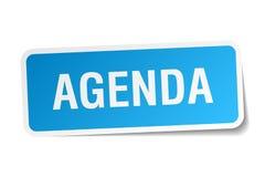 agenda majcher Obraz Stock