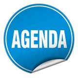 agenda majcher Zdjęcia Stock