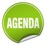 agenda majcher ilustracja wektor