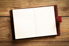 Agenda na drewnie Obraz Stock