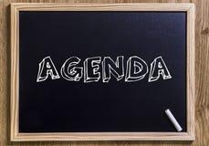 Agenda Royalty Free Stock Photography