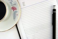 Agenda pendiente Fotos de archivo libres de regalías