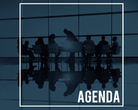Agenda Plan Program Schedule Calendar Concept Royalty Free Stock Photo