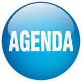 Agenda button. Agenda round button isolated on white background. agenda royalty free illustration