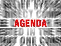 Agenda ilustración del vector