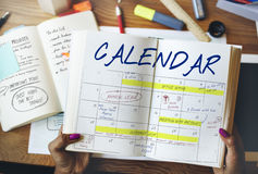 Agenda Timetable Calendar Schedule Graphic Concept. Agenda Timetable Calendar Schedule Graphic royalty free stock photography