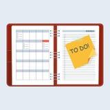 Agenda to do Stock Photos
