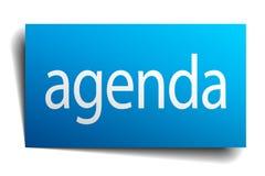 agenda znak Obraz Stock