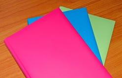 Agendas colorés image stock