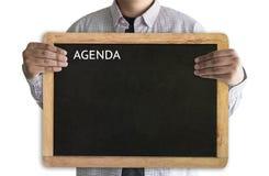 Agendy aktywności informaci kalendarza wydarzenia i Spotykać Appointm Obrazy Stock