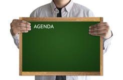Agendy aktywności informaci kalendarza wydarzenia i Spotykać Appointm Zdjęcie Royalty Free